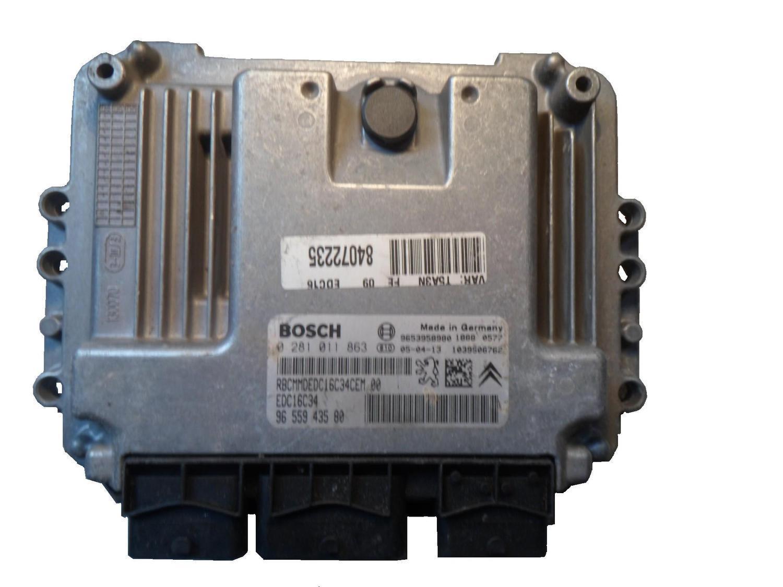 Citroen ремонт ЭБУ двигателем